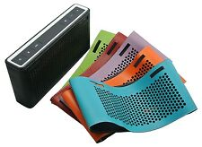 Laser Cut Leather Case For Bose Soundlink III Bluetooth Speaker Protective Cover