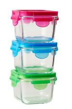 Littlelock Glass Food Storage Containers BPA FREE