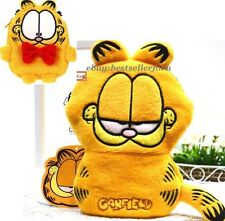 Garfield Cat Coin Purse Galaxy Note iPhone 6 plus Digital Camera Pen Makeup Bag