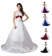 FairOnly Custom Made Bridal Gown Royal Wedding Dress Size 6 8 10 12 14 16 18++