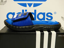NEW ADIDAS Superstar 3G Slides - Blue/Black;  M17782