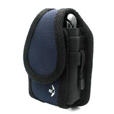 NAVY NITE IZE BELT HOLSTER RUGGED CARGO CLIP CASE COVER POUCH for VERIZON PHONES