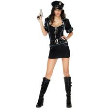 Sexy Cop Costume Adult Police Woman Halloween Fancy Dress