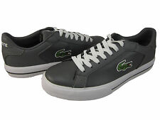 Lacoste Mens Marling low Ps Dark Grey Lace Up Casual Sneakers Shoes Kicks