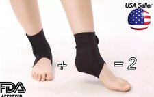 High quality Tourmaline self heating magnetic ankle brace wrap pain relief