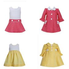 New Bonnie Jean Baby Girl Easter Spring Dress Coat Set Outfit SZ 12 18 24 MO