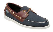Women's Sebago Spinnaker Blue/Brown B58152 Boat Shoes
