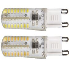 3W G9 Base SOCKET LED Light 64 SMD 3014 Chip AC220V RV Camper WHITE BULB LAMP