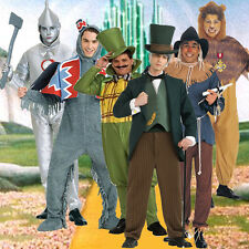 Adult Movie Book The Wizard of OZ Cowardly Lion Tin Man Scarecrow Monkey Costume