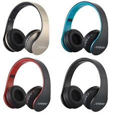 Foldable Wireless/Wired Bluetooth Headphone Headset MP3 FM TF For iPhone Samsung
