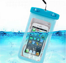 Diving Swimming Protective Waterproof Mobile Phone Bag Pouch For iPhone Samsung