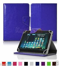 """Premium Leather Case Cover For 7"""" Polaroid A7 L7 Android Tablet WN8HW"""