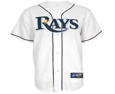 NWT Majestic Tampa Bay Rays MLB Youth Home Replica Jersey