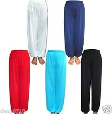 Tai chi Kung Fu Chinese Martial Arts Bloomers Trousers Sport Pants Yoga Uniforms