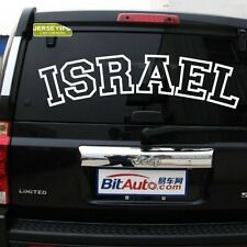 Israel Israeli Jew Jewish I Support Israel Car Decal Sticker