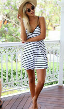 Summer Sexy Women Sleeveless Beach Dress Evening Party Cocktail Short Mini Dress