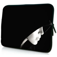 """Lady 11.6"""" 12"""" Laptop Netbook Notebook Tablet Soft Bag Case Sleeve Cover Pouch"""