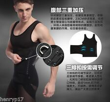 BEST BODY SHAPER SLIMMING UNDERWEAR FOR MEN WAIST CINCHER GIRDLE UK TUMMY TUCKER