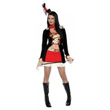 Lion Tamer Costume Adult Sexy Circus Ringmaster Halloween Fancy Dress