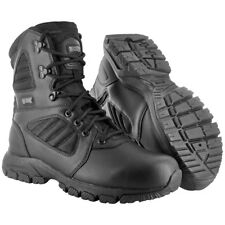 Magnum Lynx 8.0 Side Zip Tactical Boots Military Police Security Footwear Black