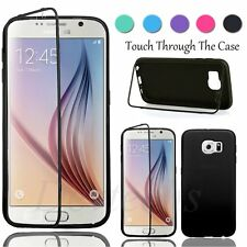 Full Body Case Cover Silicone Gel Slim TPU Skin Accessory for Samsung Galaxy S6