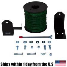 5lb 095 Round Green Commercial String Trimmer Line & Spool Bracket Holder Echo