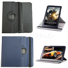 """360 Rotating Folio Faux Leather Case Cover Stand for LG G Pad 10.1"""" V700 Tablet"""