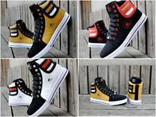NEW 2015 Men's Shoes Fashion Leather Shoe Casual High Top Sneakers Shoes /**