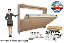 Murphy Wall Bed Hardware DIY Kit - Horizontal Wall Mount 3 Sizes Available