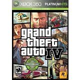 GRAND THEFT AUTO IV (PLATINUM HITS) MICROSOFT XBOX 360 GAME COMPLETE