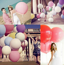 "10 Color 36""Inch Giant Big Ballon Latex Birthday Wedding Party Helium Decoration"