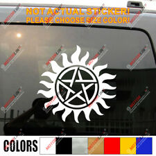 Pentagram Wiccan Wicca Pagan Star Car Decal Bumper Sticker