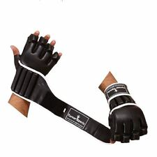 TurnerMAX MMA Boxing Gloves Wrist Padded Support Grappling Cage Fight Glove UFC