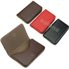 Business ID Credit Pocket Leather Card Holder Case Wallet New