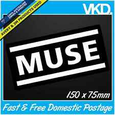Muse Sticker/ Decal - Band Music Vinyl BMX Skateboard English Rock Laptop Car