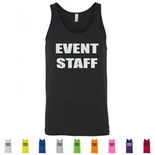 Event Staff Concert Security Party Bouncer Graphic Mens Tank Tops
