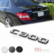 C300 REAR BOOT TRUNK LETTER EMBLEM BADGE for ALL MERCEDES BENZ C CLASS W204 AMG