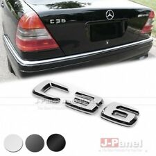 C36 REAR BOOT TRUNK LETTER EMBLEM BADGE for ALL MERCEDES BENZ C CLASS W202 CAR
