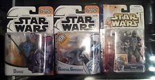 STAR WARS CLONE WARS Lot Bounty Hunter Durge & General Grievous BRAND NEW