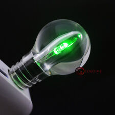 USB 2.0 Flash Memory Pen Drive 1 2 4 8 16GB Thumb Stick Green LED Acrylic Bulb