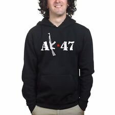 AK-74 AKM AK-47 Kalashnikov Russian Assault Rifle Pmag Airsoft Sweatshirt Hoodie