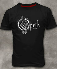 Opeth Logo T-shirt Metal Men's Cotton Black Tee Shirt M L XL 2XL 3XL