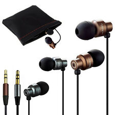3.5mm In-Ear Stereo Bass Earphone Headphone Earbud Metal Headset For MP3/4 Ipod