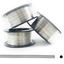 Sterling Silver Wire Round Dead Soft 5ft: 14 16 18 19 20 21 22 24 26 28 30 Gauge