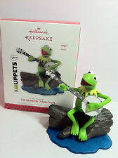 Hallmark Ornaments 2013 Kermit the Frog Muppets Rainbow Connection Sound