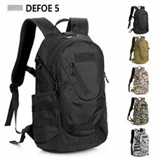 Black Outdoor Camouflage men waterproof mountaineering tactical travel Backpack