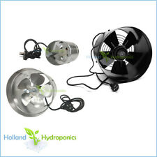 "6-12"" Ventilation CIRCULAR VENT FAN Blower Hydroponic Grow light Tent air flow"