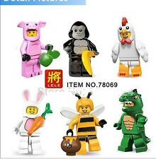 Animal Suit Minifigure. Compatible with Lego