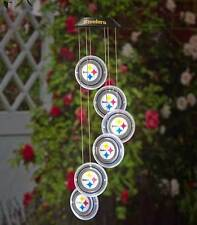 NFL Football Solar Powered LED Mobile Hanging Yard Outdoor Sports Patio Decor
