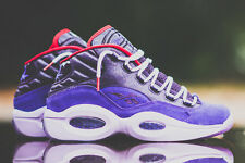 Youth / Womens Reebok Iverson Question Mid QS DS Sneakers,  Purple V61600